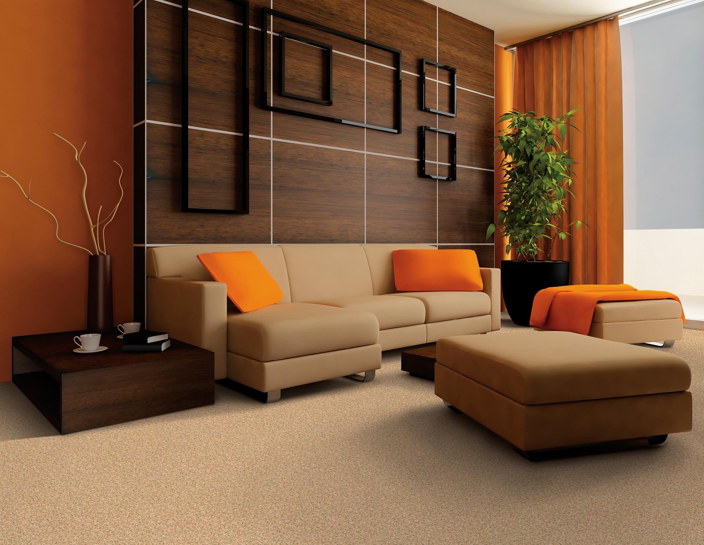 Hiasan dalaman ruang tamu kontemporari dengan langsir modenjpg