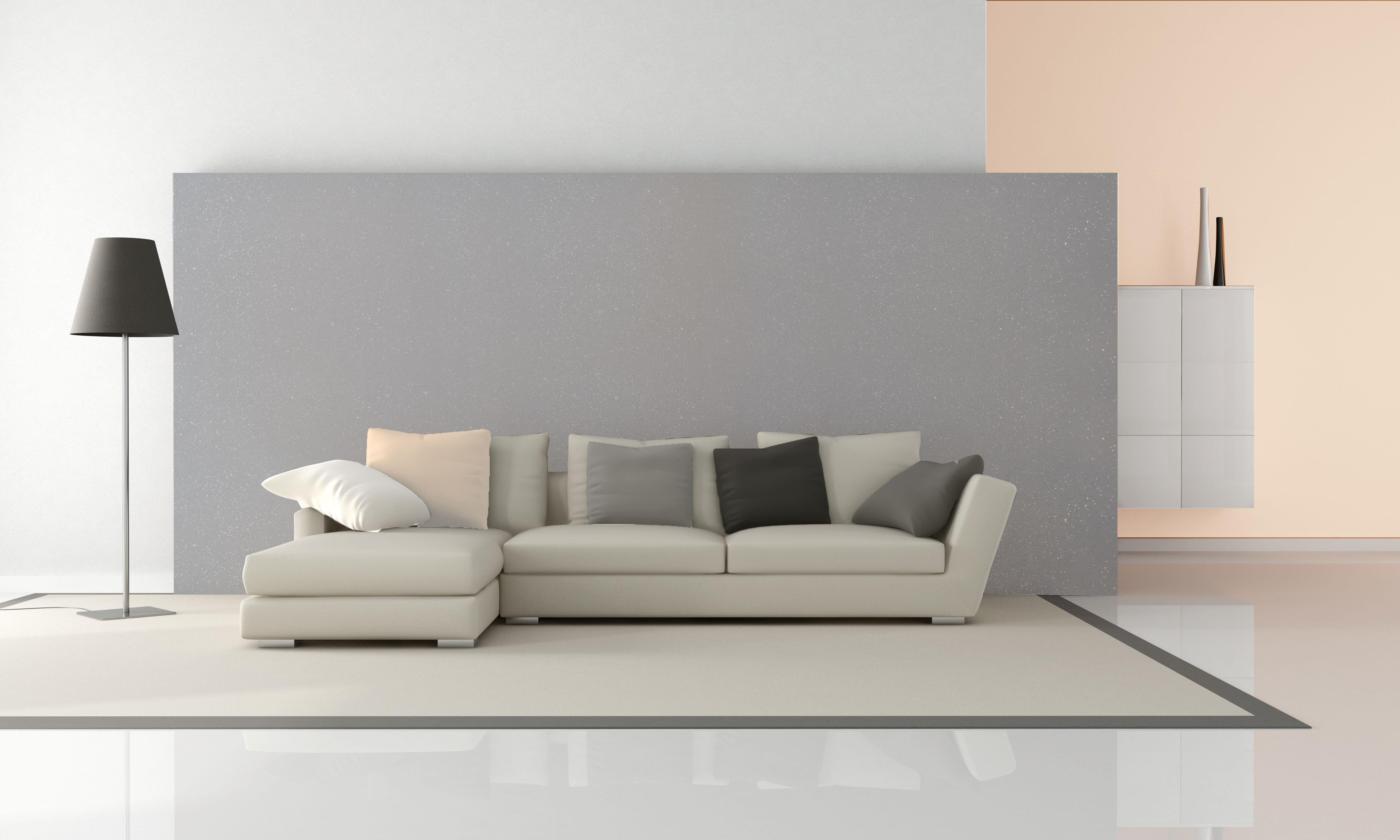 Idea Hiasan Dalaman Ruang Tamu Minimalis Yang Super Cool Dengan Set Sofa Warna Pastel