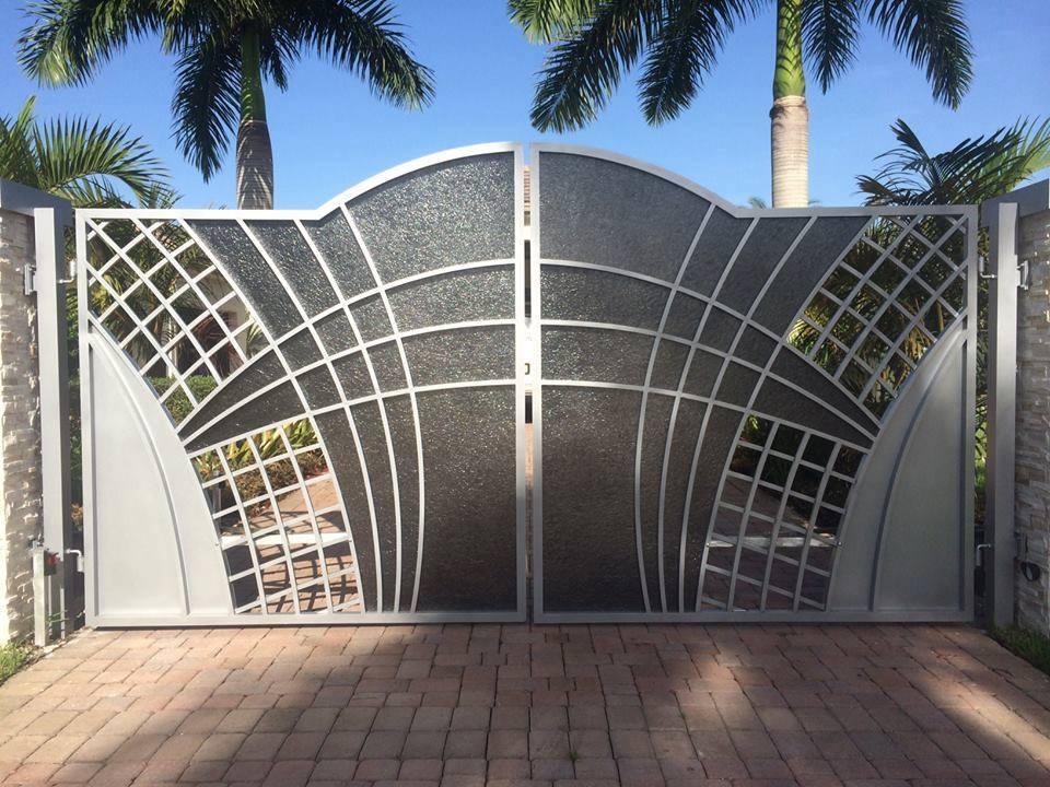 Model Pintu Pagar Besi Minimalis Sesuai Untuk Rumah Moden
