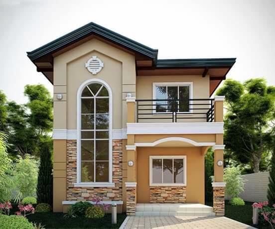 reka bentuk rumah kampung moden 2 tingkat