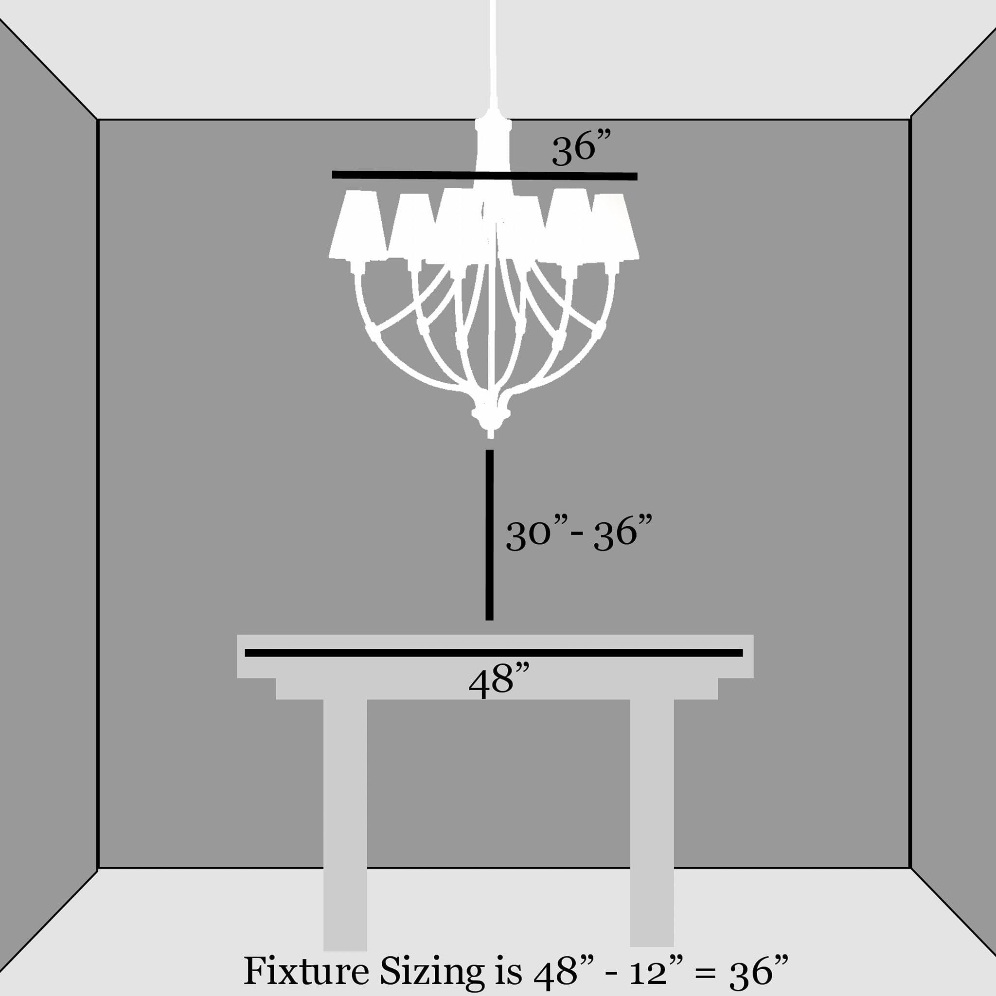 cara menggantung chandelier (12)