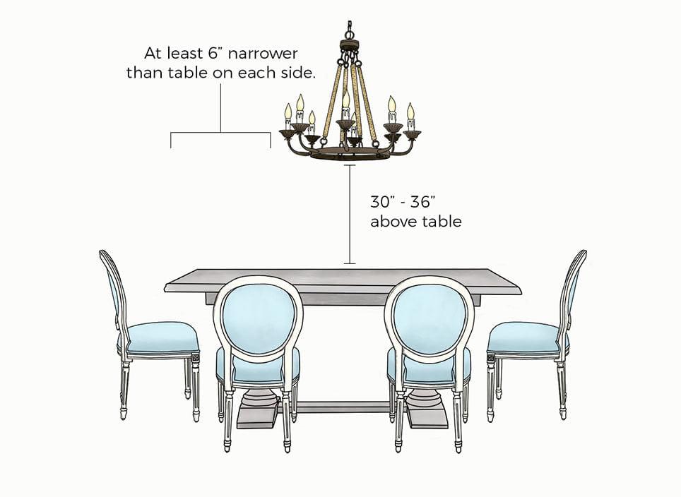 cara menggantung chandelier (5)