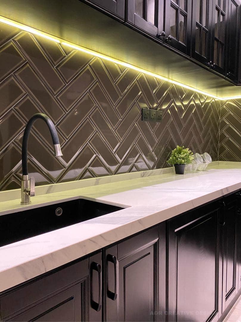deko dapur kering minimalis moden