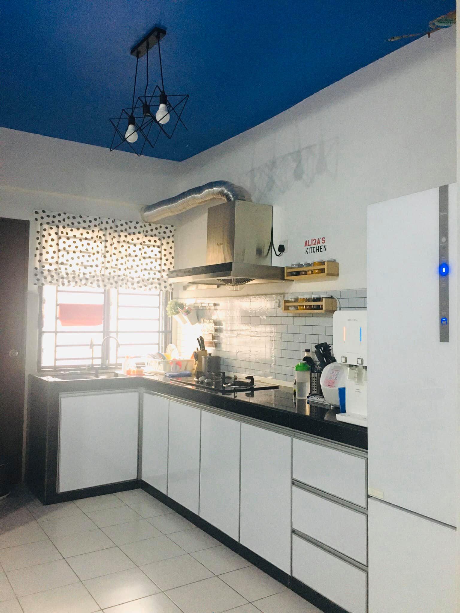 deko dapur putih