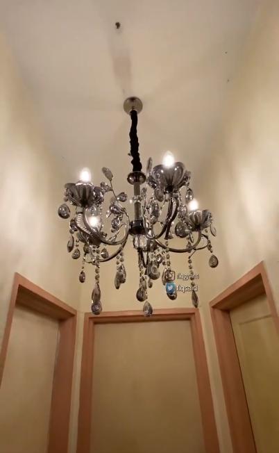 hasil pemasangan lampu