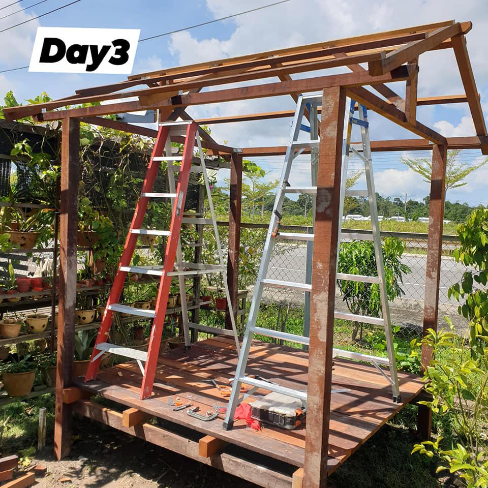 proses bina gazebo (2)