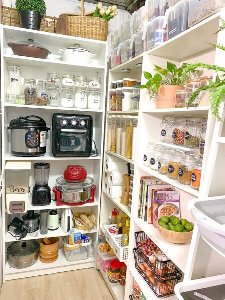 Stor Luar Dapur Diubahsuai Jadi Stor Simpan Bahan Makanan Dan Masakan Hias My